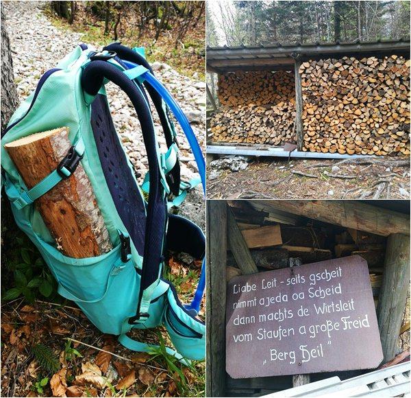 Holzlager Hochstaufen
