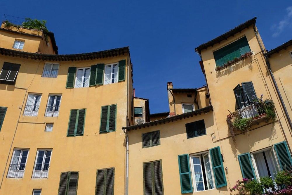 Wohlfühl Atmosphäre beim Bummel durch Lucca