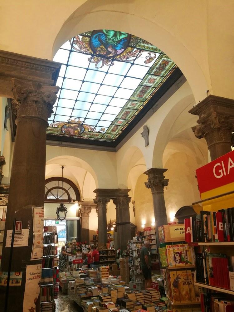 Buchhandlung in Lucca