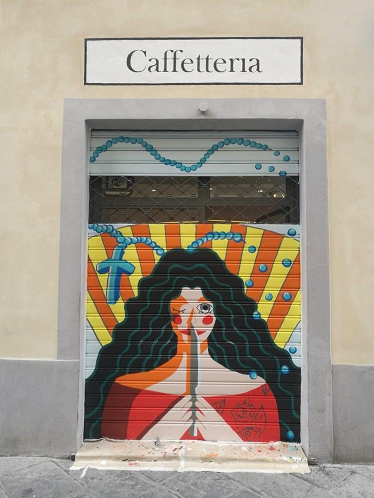 Bunt und modern - Street Art in Lucca