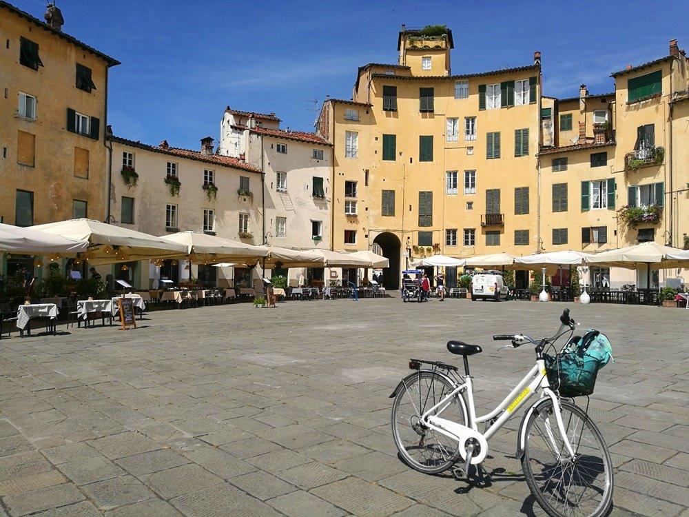 Fahrrad in Lucca