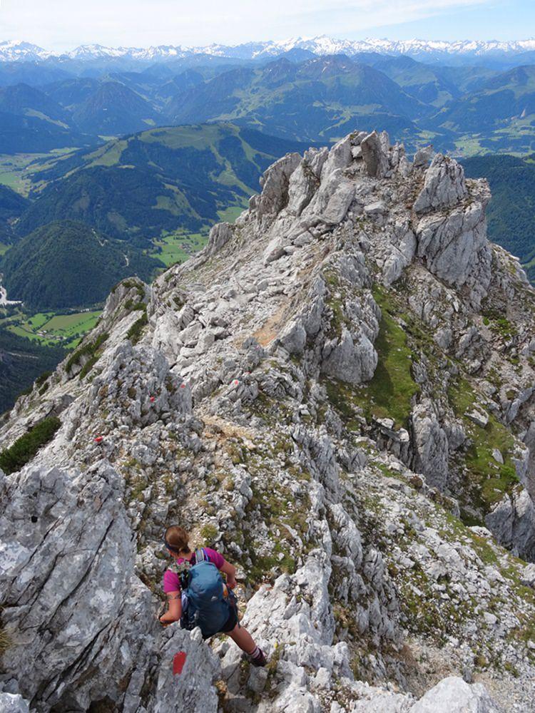 Abstieg vom Ulrichshorn