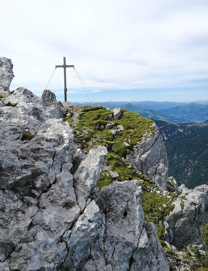 Gipfel Heimkehrerkreuz