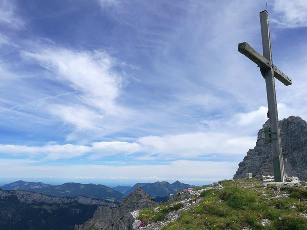 Gipfelkreuz Ulrichshorn