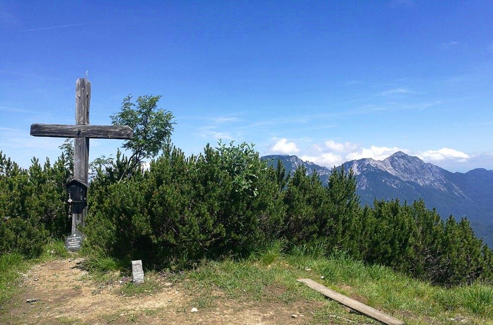 Gipfelkreuz Ristfeuchthorn
