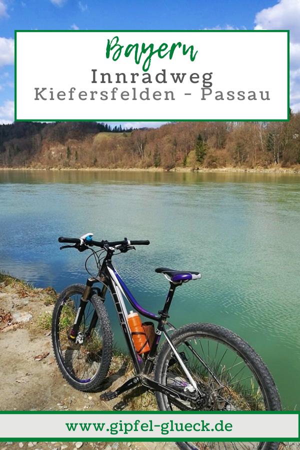 Innradweg Etappen Bayern
